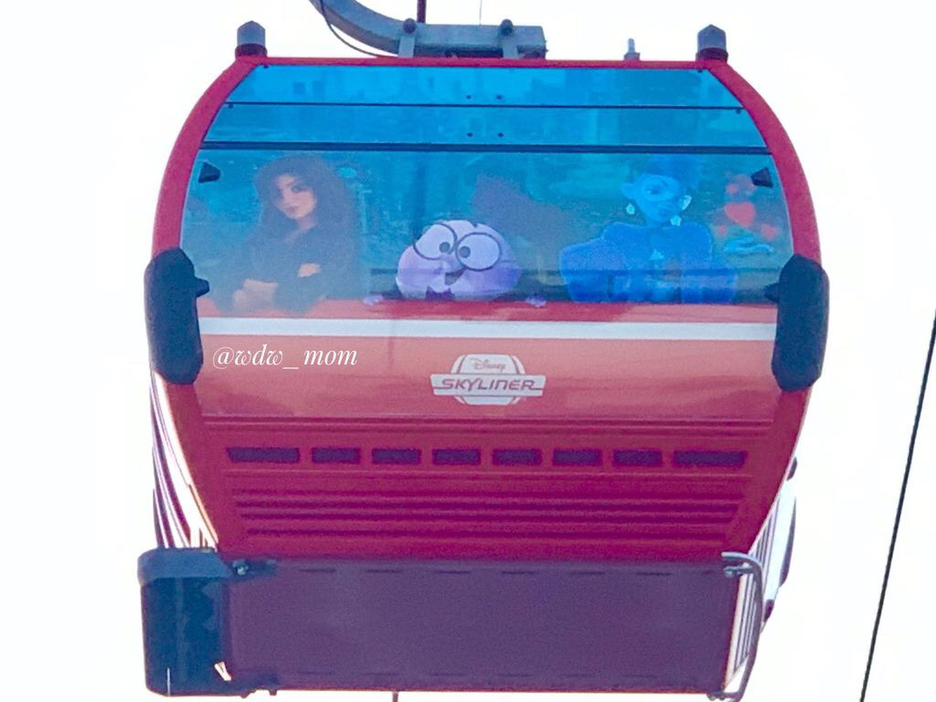 More Close Up Photos of the New Disney Skyliner 6