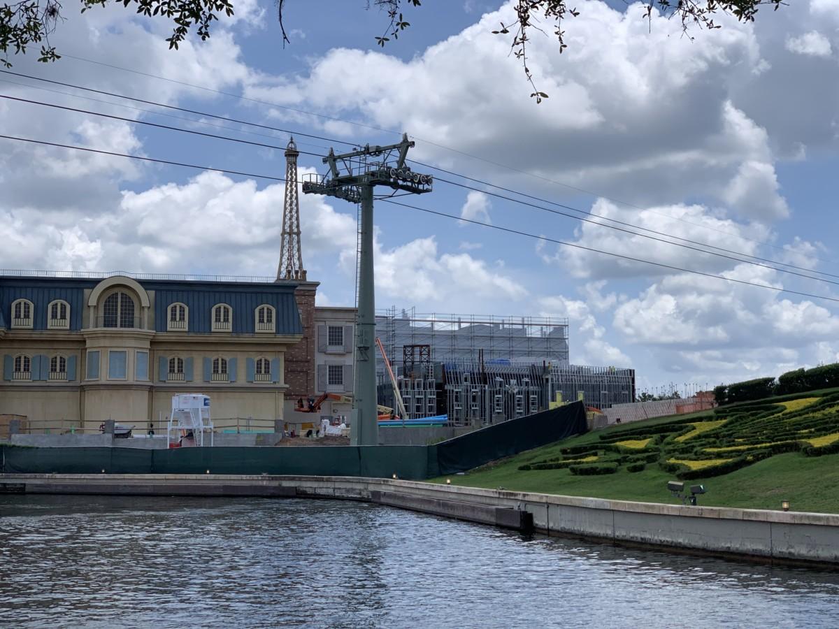 Construction Update at Epcot~International Gateway 4