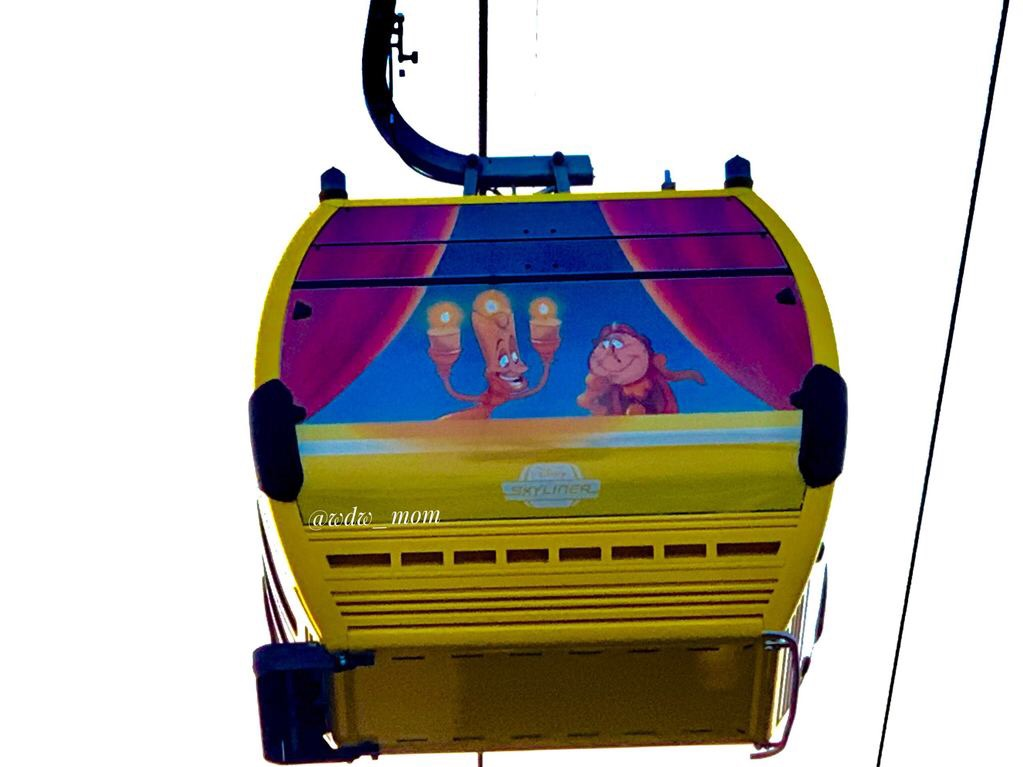 More Close Up Photos of the New Disney Skyliner 2