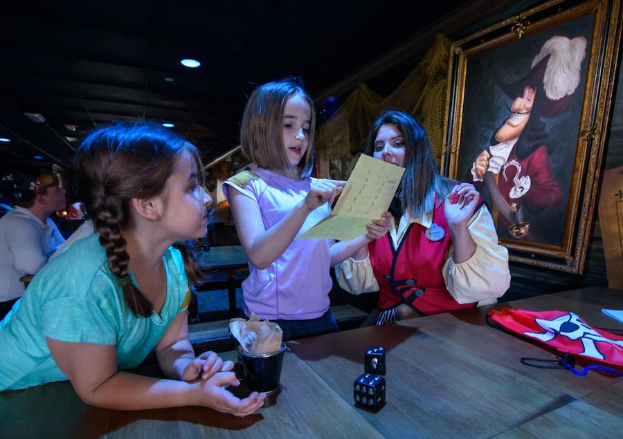 Captain Hook's Pirate Crew Now Open at Disney's Beach Club Resort 2