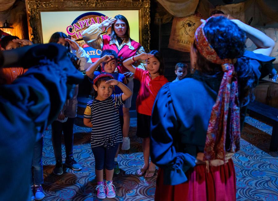 Captain Hook's Pirate Crew Now Open at Disney's Beach Club Resort 3