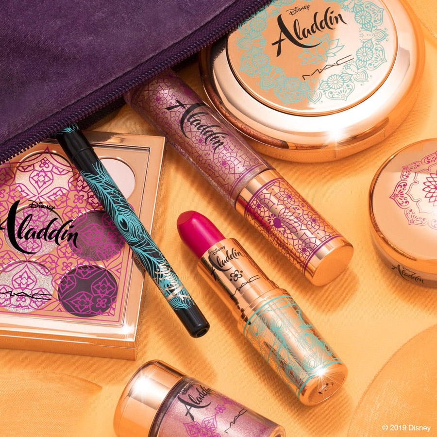 Disney Aladdin Collection World Premiere by M•A•C Cosmetics Debuts May 15 at Disney Springs 24