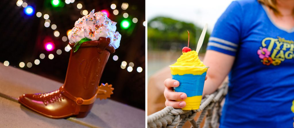 Specialty Desserts for H2O Glow Nights at Disney's Typhoon Lagoon