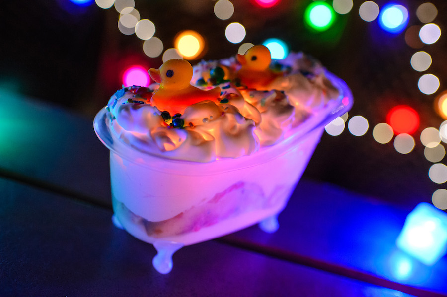 Bathtub Sundae found during Woody and Jessie at H2O Glow Nights at Typhoon Lagoon Water Park