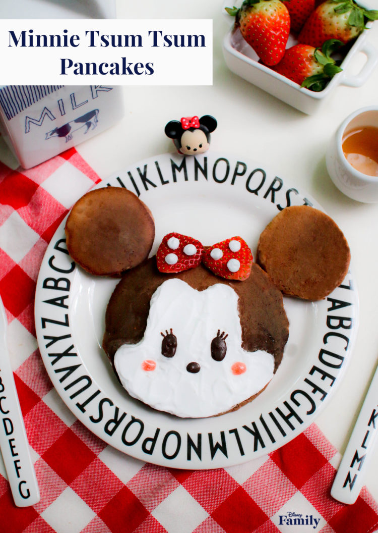 Mother's Day Breakfast with Minnie Mouse Tsum Tsum Pancakes 2