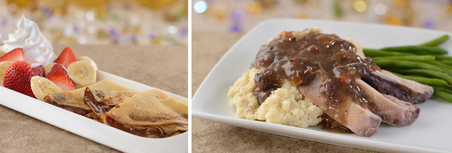 Kids Dishes from Be Our Guest Restaurant at Magic Kingdom Park