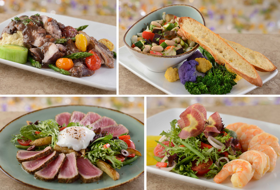 Lunch Entrées from Be Our Guest Restaurant at Magic Kingdom Park