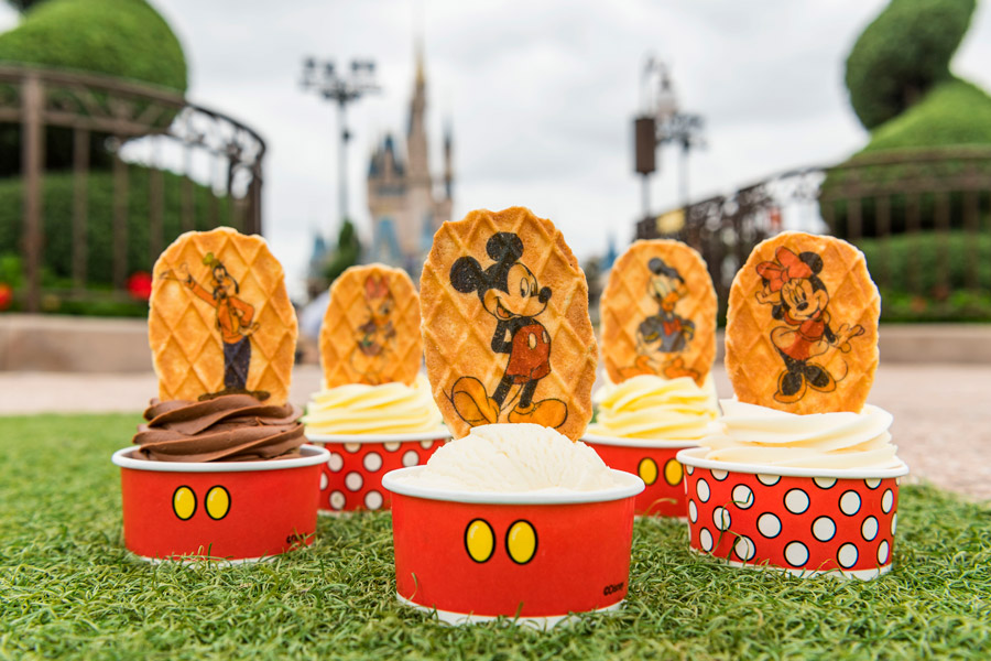 Mickey and Pals Waffle Wafer Toppers at Magic Kingdom Park