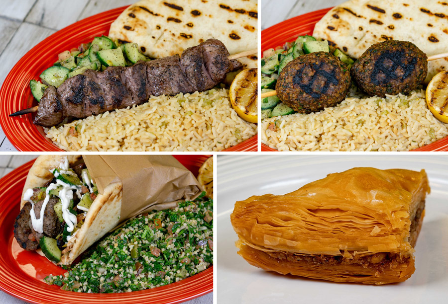 New Mediterranean Dishes from Paradise Garden Grill at Disney California Adventure Park