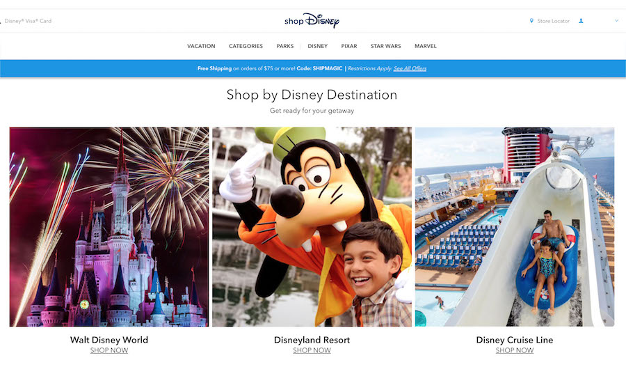 Make the Move to shopDisney and Discover Favorite Products from Disney Parks 7
