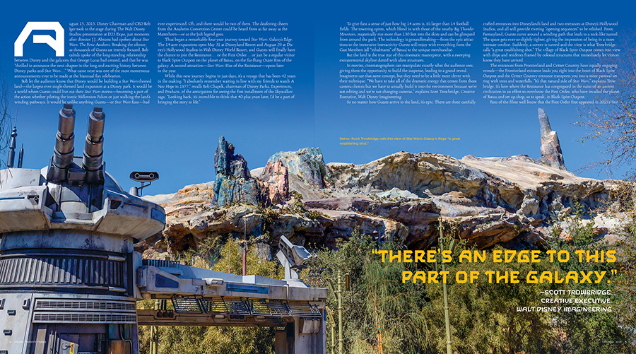 First Look: Star Wars: Galaxy's Edge Lands on the New Disney twenty-three 2