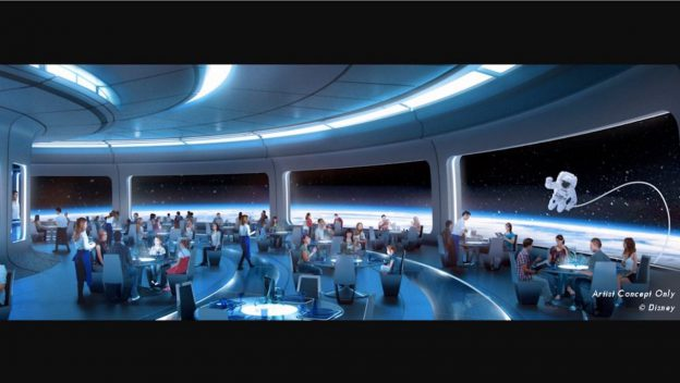 New Details About Space-Themed Restaurant Coming to Epcot 1