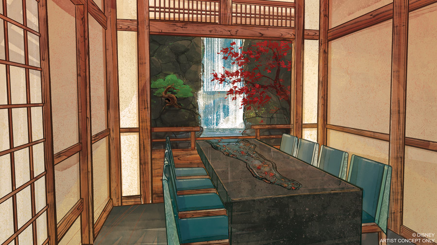 Takumi-Tei Restaurant to Open Summer 2019 at Epcot 33