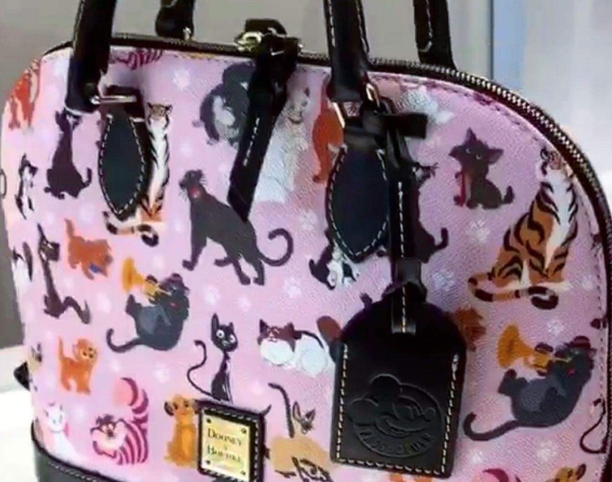 New from Dooney and Bourke - Disney Cats 3