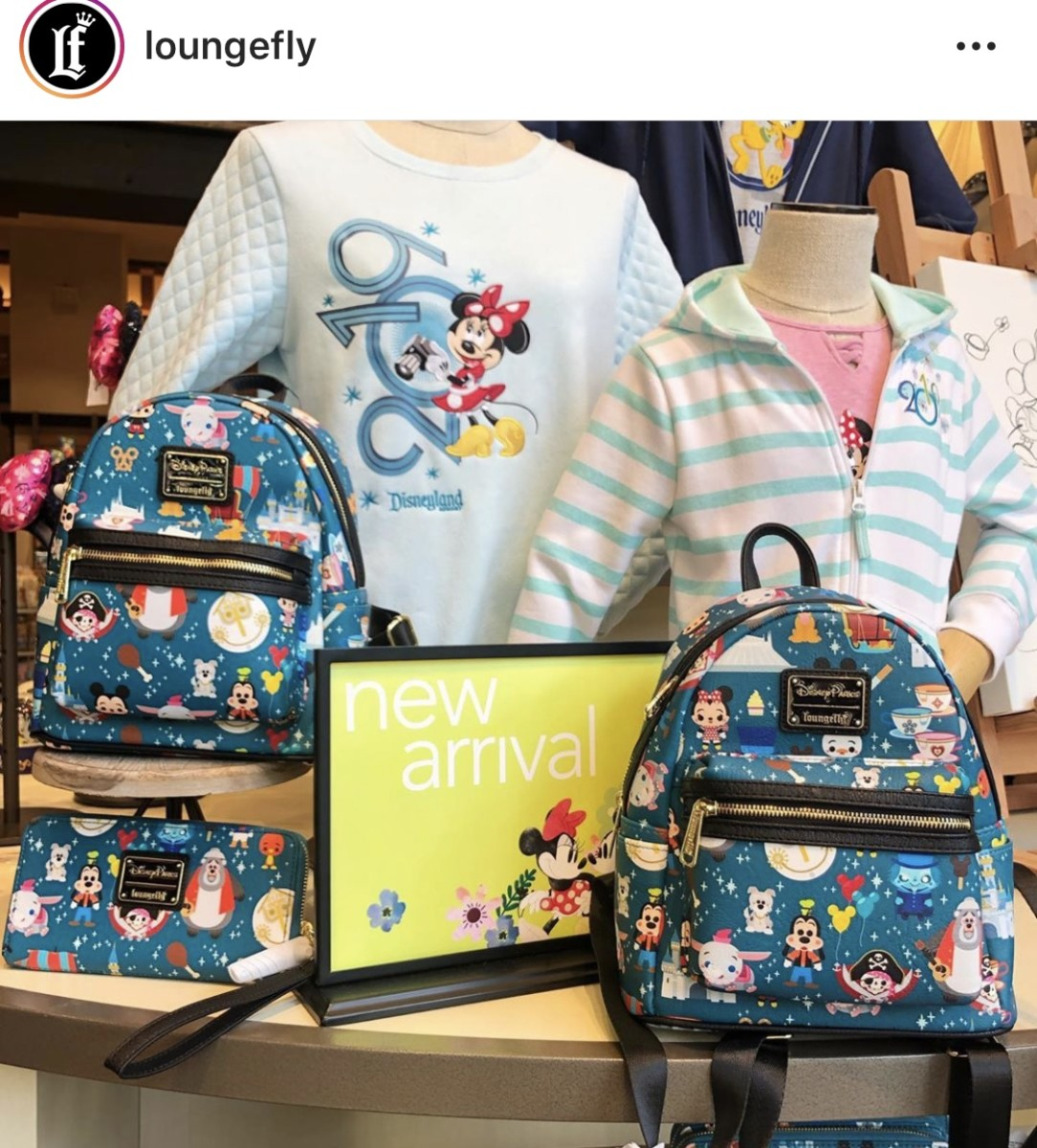 New Disney Parks Themed Backpacks from #Loungefly 1