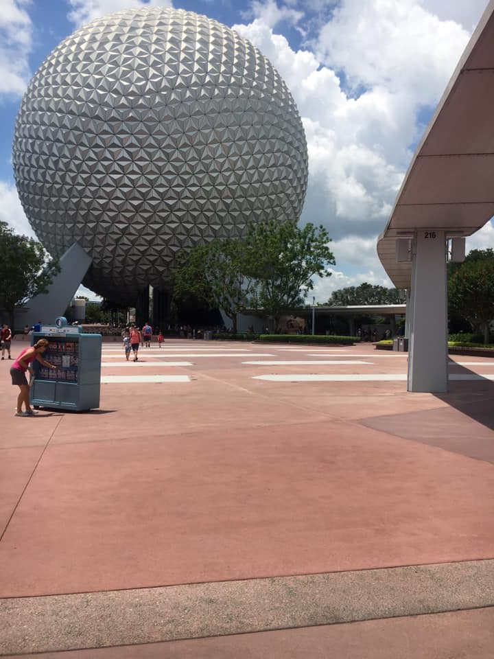 "Leave A Legacy ""Walls"" Moved at Epcot (photos) 1"