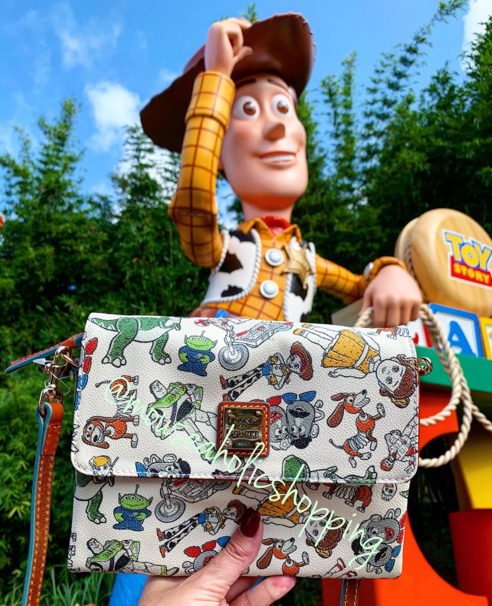 You've got a friend in me, Disney with these new toy story 4 Dooney and Bourke bags and more! 3