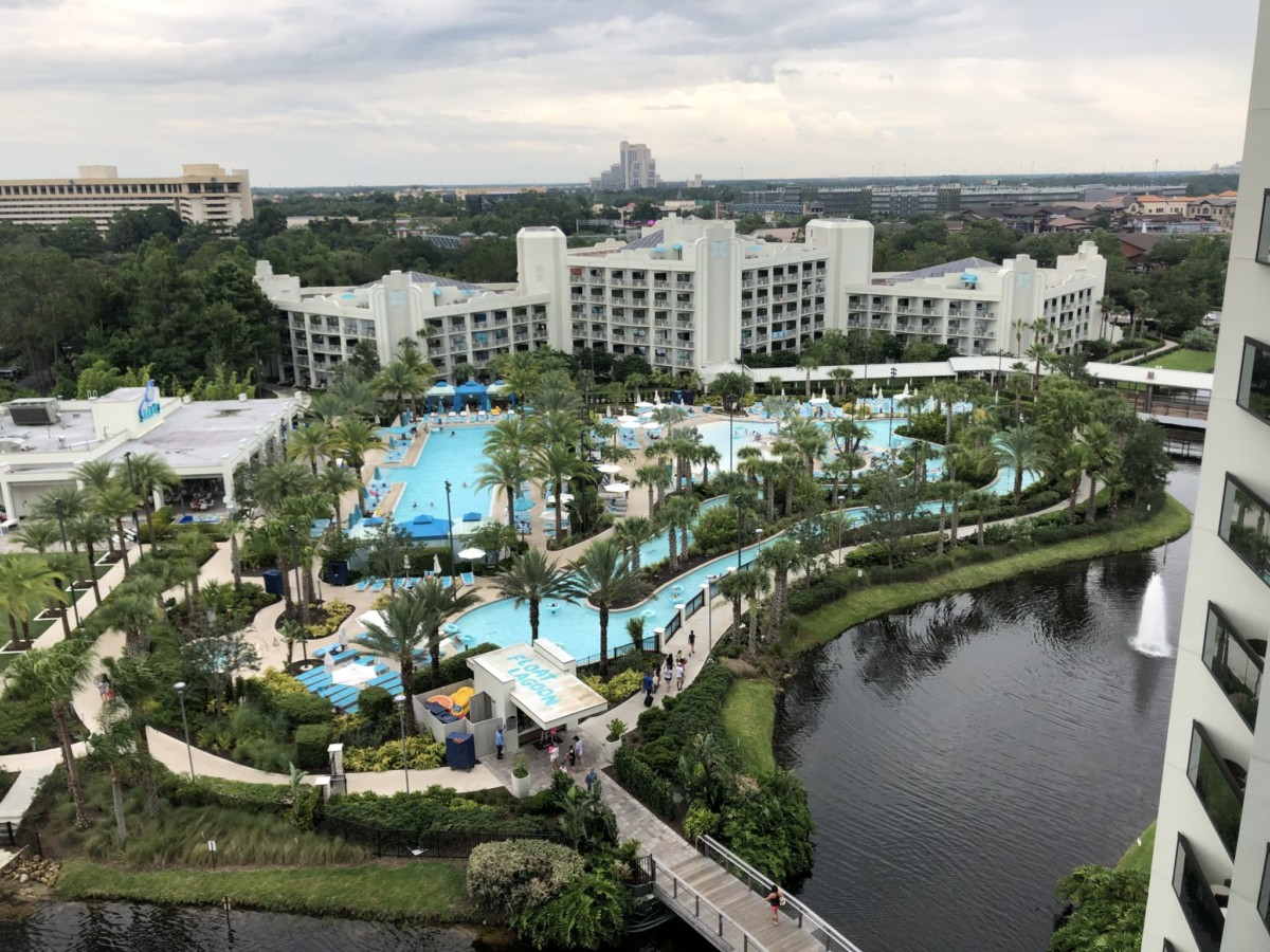 Check Out the Beautiful Hilton Buena Vista Palace, Disney Springs. Photos and Video! #theartofvacation 24