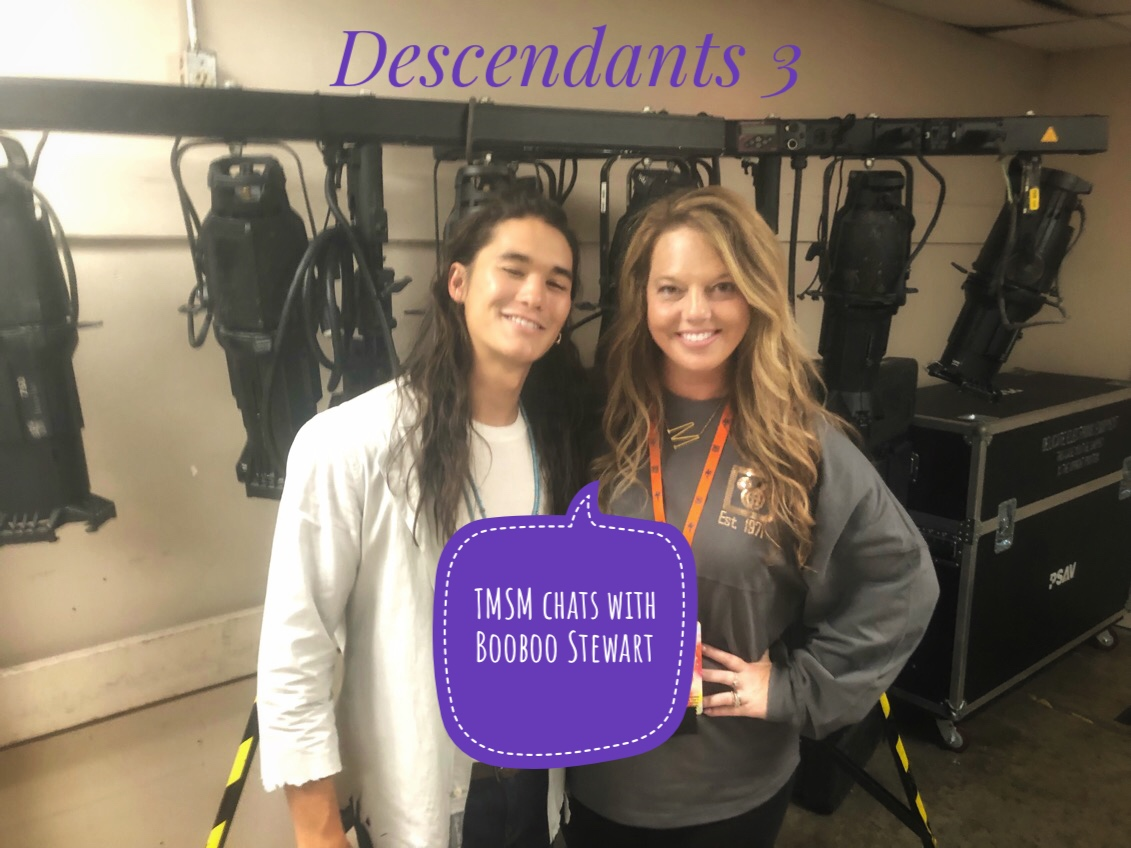 Our Chat With Booboo Stewart from Disney Descendants #descendants3 4