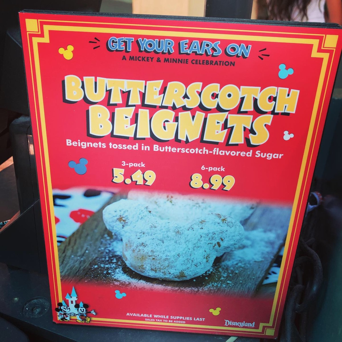 Butterscotch Beignets at Disneyland 2