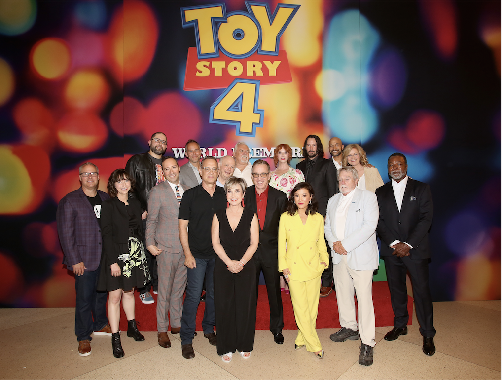 Stars of Toy Story 4 Celebrate World Premiere in Hollywood #ToyStory4 2