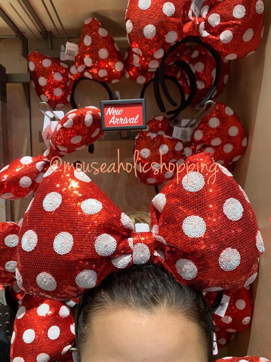 New Oversized Minnie Bow Headbands! #disneystyle 3