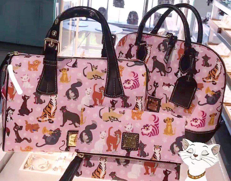 New from Dooney and Bourke - Disney Cats 5