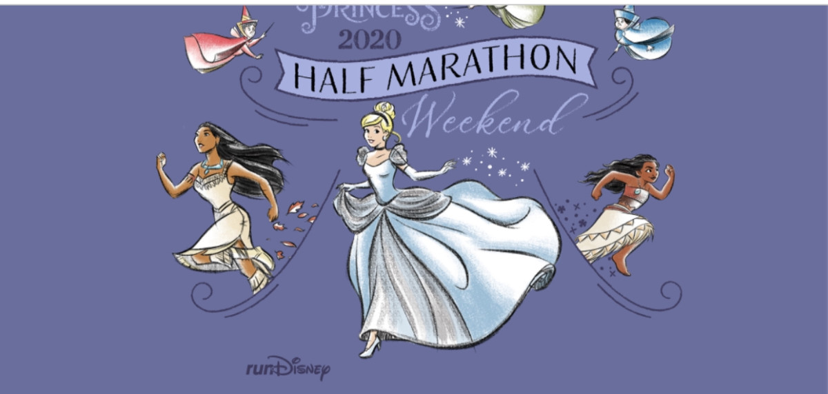 A charming set of runDisney race themes for the Princess half marathon weekend in February 2020 2