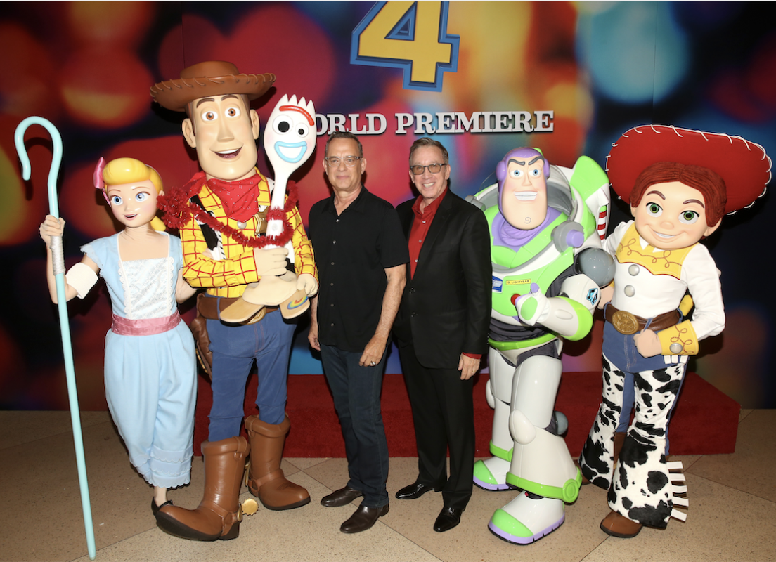 Stars of Toy Story 4 Celebrate World Premiere in Hollywood #ToyStory4 24