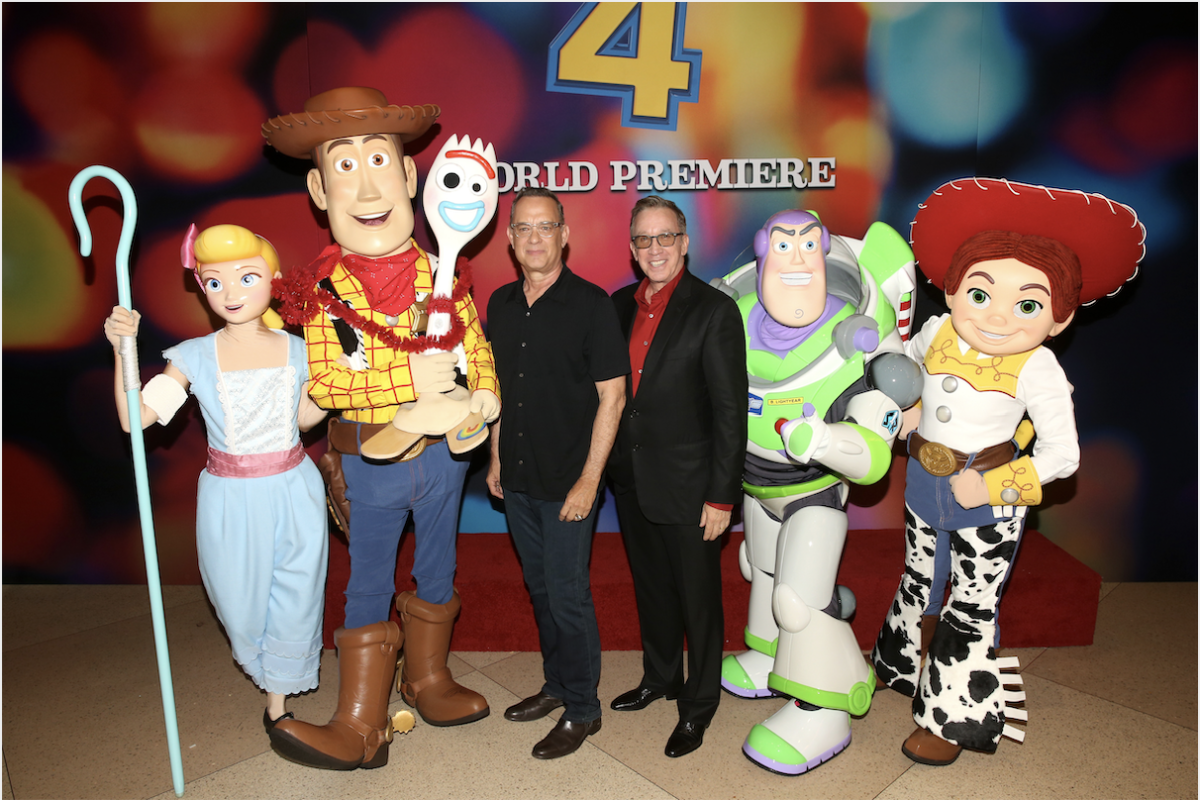 Stars of Toy Story 4 Celebrate World Premiere in Hollywood #ToyStory4 4