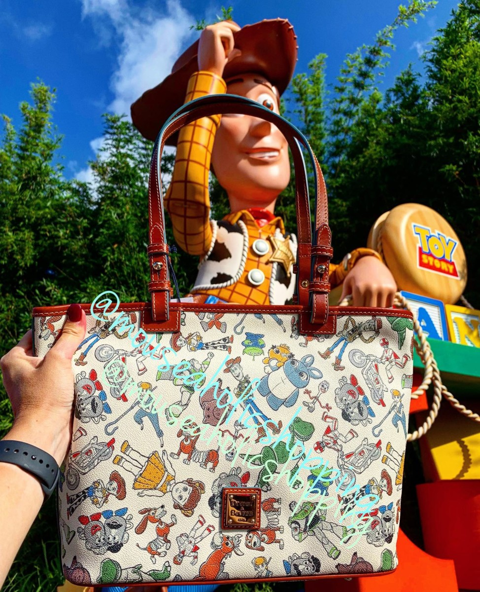 You've got a friend in me, Disney with these new toy story 4 Dooney and Bourke bags and more! 24