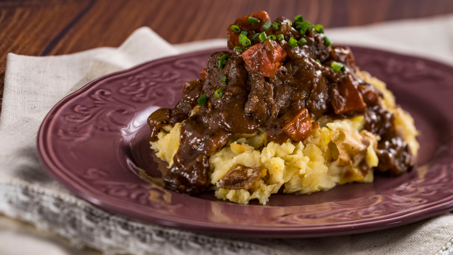 Venison Stew with Crushed Potatoes from The Alps Marketplace at the Epcot International Food & Wine Festival