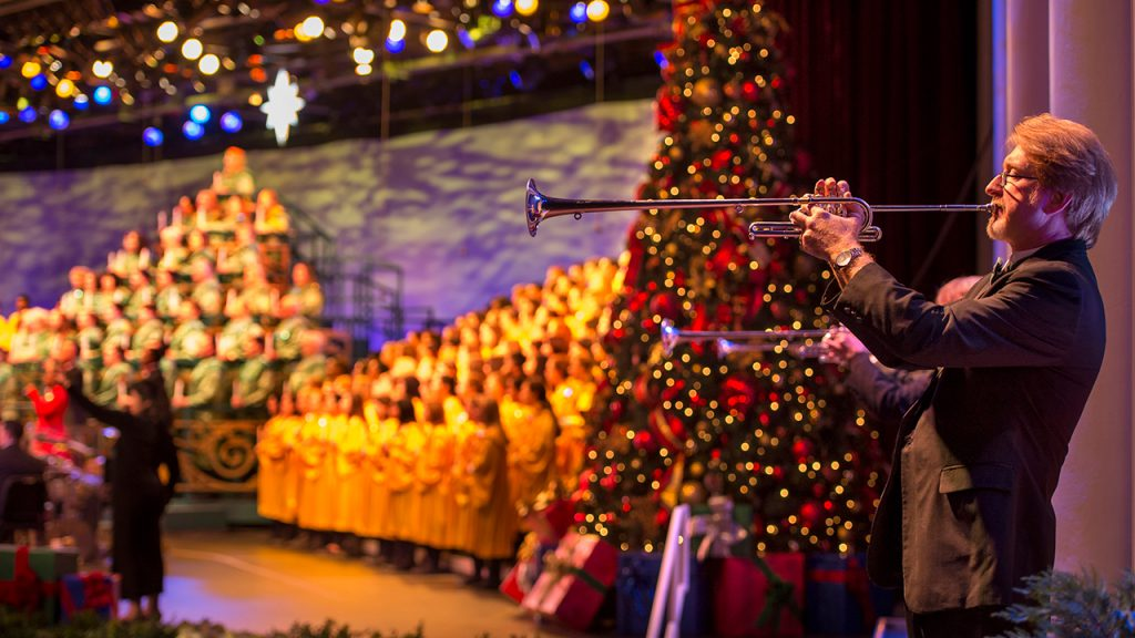 Candlelight Processional at Walt Disney World