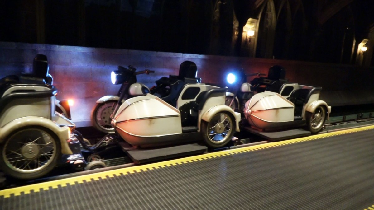 Universal's Story Coaster Weaves a Spellbinding Tale #HagridsMotorbikeAdventure 2