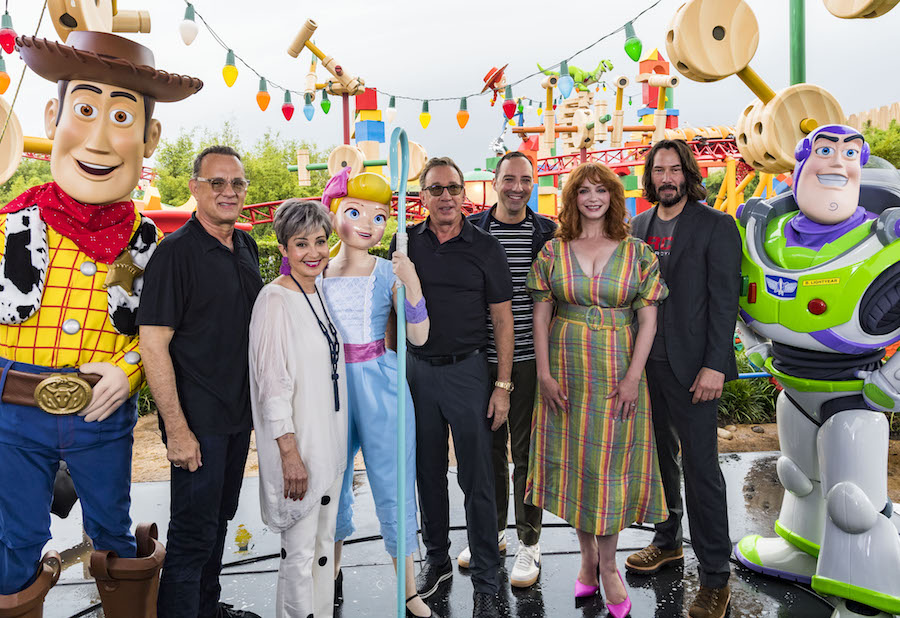 Visiting with Voices of 'Toy Story 4' 5