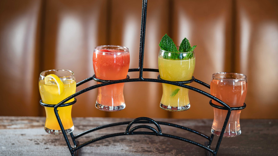 Mimosa Flight from Lamplight Lounge at Disney California Adventure park