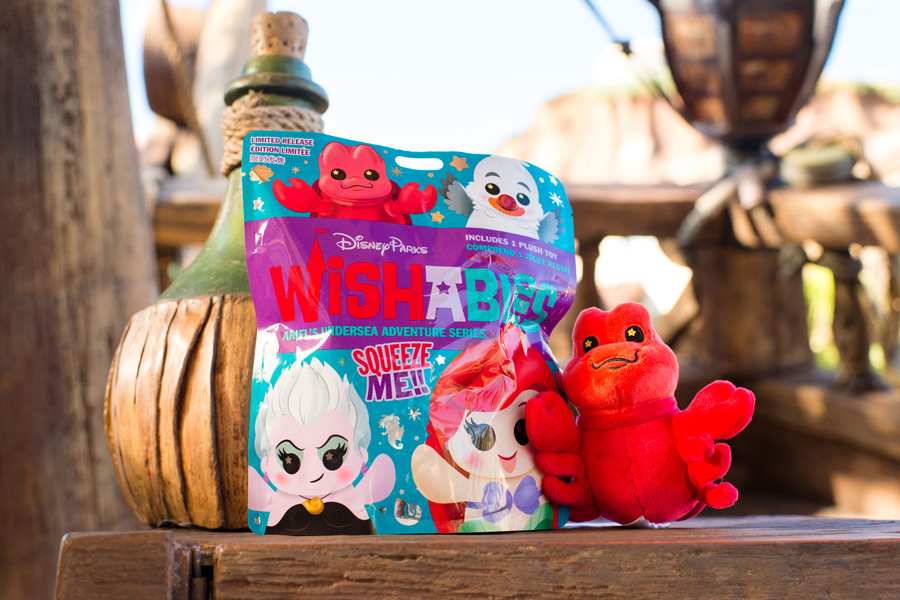 New Wishables Collection Inspired by 'The Little Mermaid' Arrives at Disney Parks 2