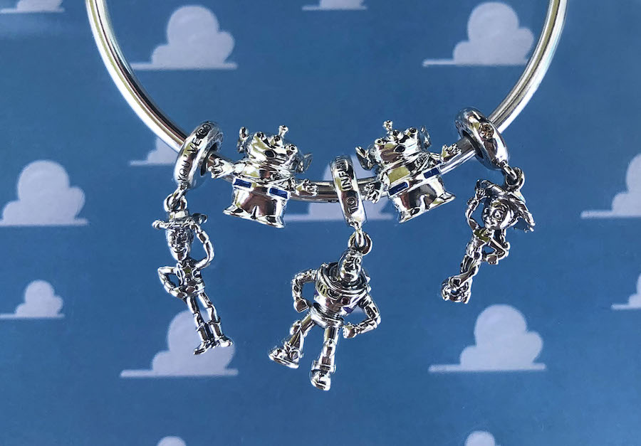 Toy Story-inspired charms by PANDORA