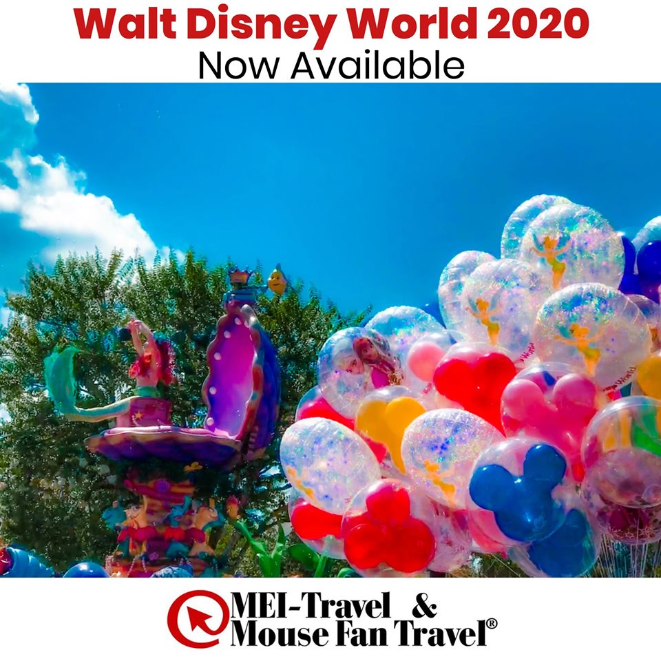 Walt Disney World 2020 Packages Available to Book TODAY! Details Below! 1