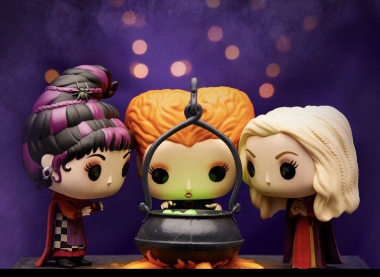 New Hocus Pocus Pop Vinyls from Spirit Halloween 1