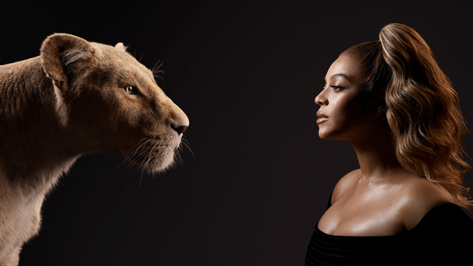 "DISNEY'S ""THE LION KING"" – Check out stunning new images of film's cast with their characters! #thelionking 4"