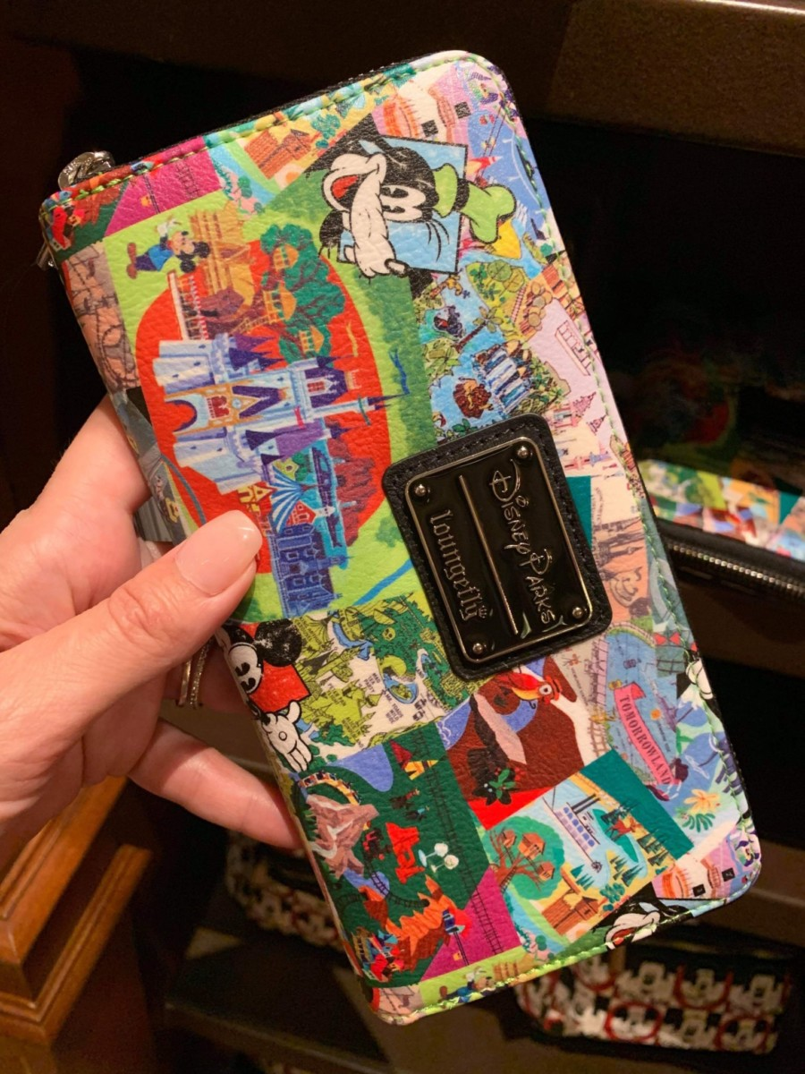 New Disney Parks Loungefly Backpack & Wallet! #disneystyle 3
