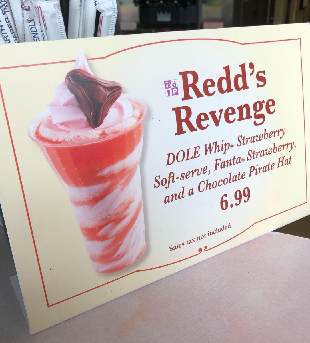 Redd's Revenge Float... With Chocolate! #magickingdom 2