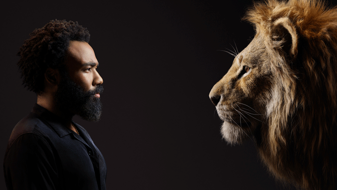 "DISNEY'S ""THE LION KING"" – Check out stunning new images of film's cast with their characters! #thelionking 3"