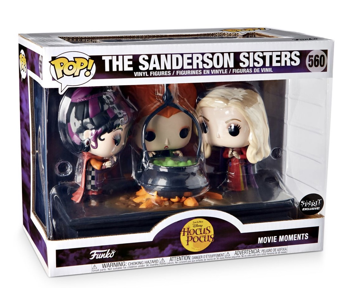New Hocus Pocus Pop Vinyls from Spirit Halloween 2