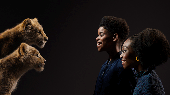 "DISNEY'S ""THE LION KING"" – Check out stunning new images of film's cast with their characters! #thelionking 7"
