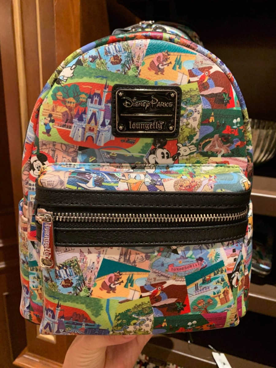 New Disney Parks Loungefly Backpack & Wallet! #disneystyle 20