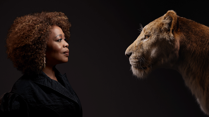 "DISNEY'S ""THE LION KING"" – Check out stunning new images of film's cast with their characters! #thelionking 8"