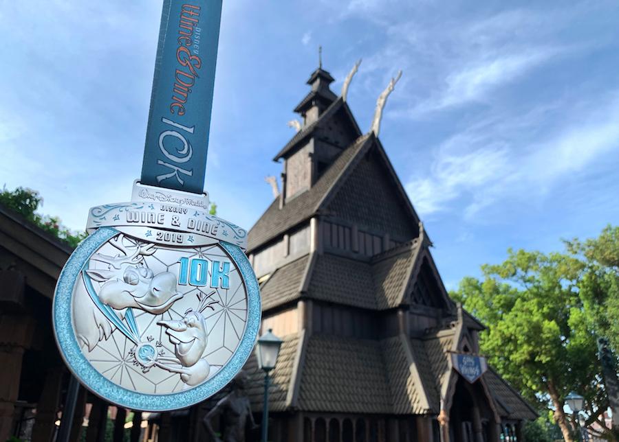 runDisney Medal Reveal: Celebrating 10 Years of the Disney Wine & Dine Half Marathon Weekend 3