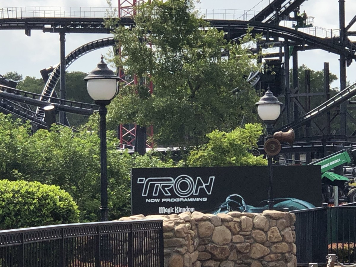 Updated Photos & Video of TRON at #MagicKingdom 18